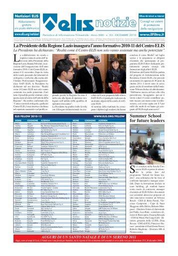 n. 53 - DICEMBRE 2010 - TECA ELIS