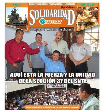 Mayo 09 - Página Oficial del SNTE Sección 37 de Baja California