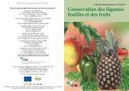 Conservation des légumes feuilles et des fruits.pdf - TECA