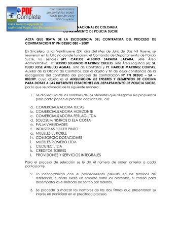 a. COMERCIALIZADORA TECAS b. COMERCIALIZADORA ...