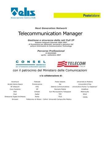 Telecommunication Manager - TECA ELIS
