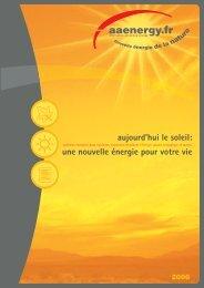AAE 850 - 1050 - 2200 CSL - Alternative Advanced Energy