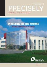 Precisely! (PDF 1,2 MB) - Makino Europe GmbH