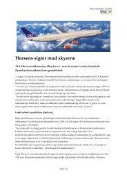 Horsens sigter mod skyerne - Vitus Bering Danmark