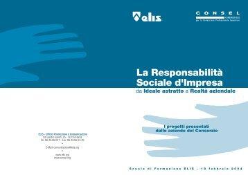 I progetti presentati dalle aziende del Consorzio - TECA ELIS
