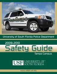 University of South Florida Police Department - USF Police ...