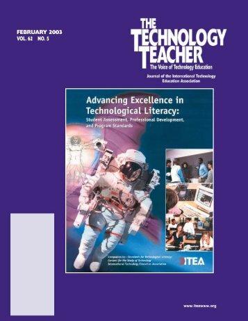 FEBRUARY 2003 VOL. 62 NO. 5 - International Technology and ...