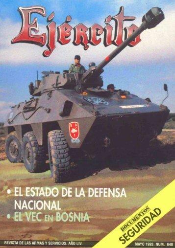 Nº 640 1993 Mayo - Portal de Cultura de Defensa - Ministerio de ...