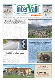 Rilancio significativo del Turismo in Valle Brembana Viabilità in ...