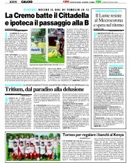 02/06/2008 Play Off - Triangolari - serie d news