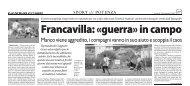 19/02/2007 Campionato 23a Giornata: Girone H - serie d news