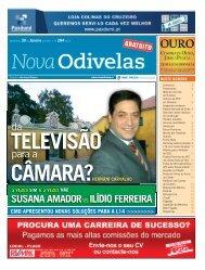 SUSANA AMADORvsILÍDIO FERREIRA da para a - Nova Odivelas