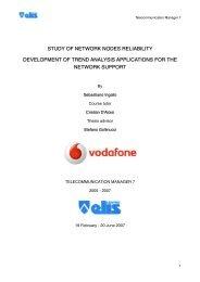 4. GSM - Global System for Mobile Communications - TECA ELIS