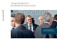 Change Management - Wirtschaftsmagazin