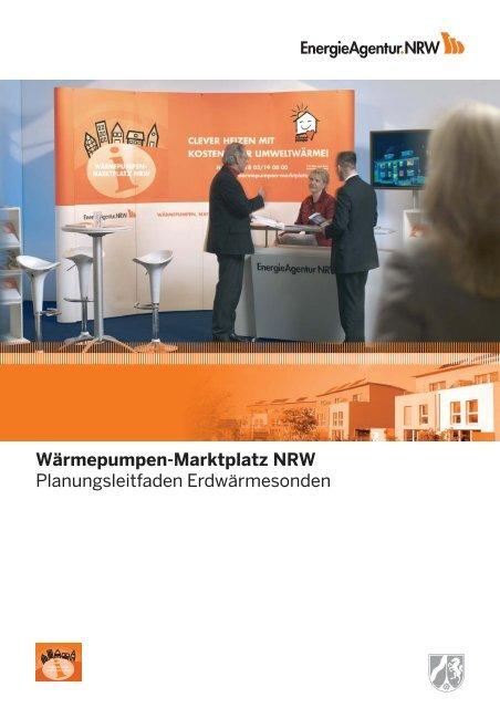 4. Installation von Erdwärme- sondenanlagen - NRW spart Energie
