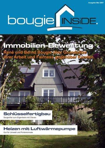 Newsletter Mai 2007 - Bougie