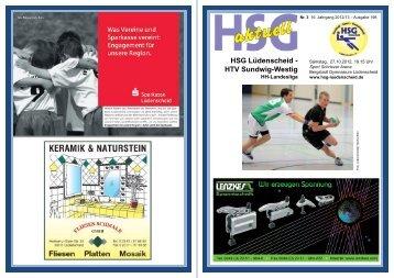 HEFT 3 - HSG 4 - HSV Werdohl
