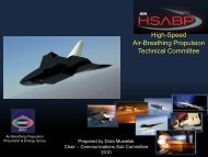What is the HSABPTC - AIAA Info