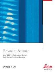 TCS SP5 II Resonant Scanner-Flyer_EN - Leica Microsystems