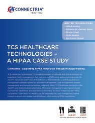 tcs healthcare technologies – a hipaa case study - CloudSleuth