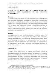 artículo res. Familia - Asociación Española de Terapia Sistémica ...