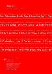 ISSN 1661-8211 | 112. Jahrgang | 31. Dezember 2012 - admin.ch