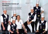 Der Zürcher Cercle auf Goldkurs - Hotel & Gastro Union