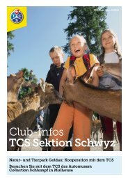 Club Infos September 2012 - beim TCS Sektion Schwyz