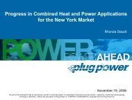 Progress in Combined Heat and Power Applications for the ... - AERTC