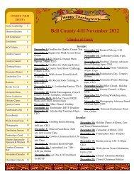 November 2012 4-H Newsletter - AgriLife