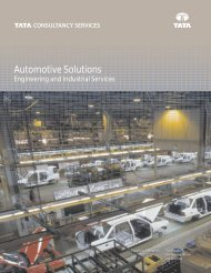 Automotive Solutions - Tata Consultancy Services