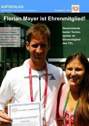 Florian Mayer ist Ehrenmitglied! - Tennisclub Landsberg e. V.