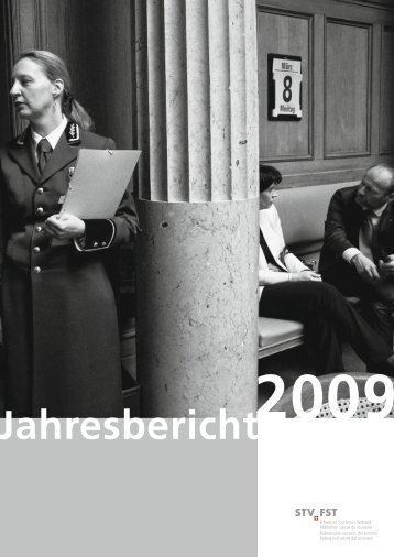 Jahresbericht 2009 - Schweizer Tourismus-Verband