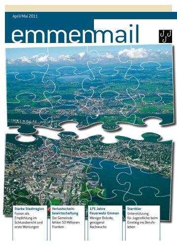 Emmenmail April/Mai 2011 - Gemeinde Emmen