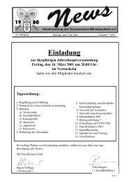 Vereinszeitung - Tennisverein Winnekendonk