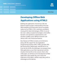 Developing Offline Web Application Using HTML5 - Tata ...