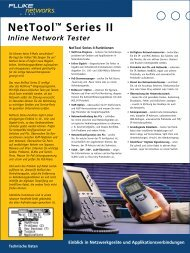 NetTool™ Series II Inline Network Tester - My Account - Fluke ...