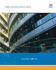 Annual Report 2009 - 10 - Tata Consultancy Services