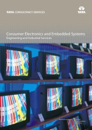 Consumer Electronics and Embedded Systems Brochure A4 - Tata ...