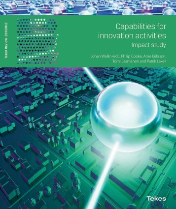 291/2012 Capabilities for innovation activities – Impact study - Tekes