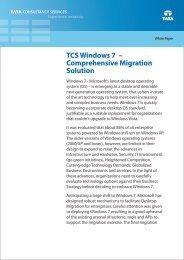 TCS Windows 7 - Tata Consultancy Services