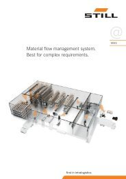 Material flow management system. Best for complex ... - Still GmbH