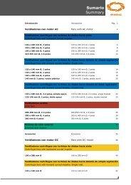 Sumario Summary - Soler & Palau