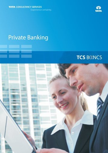 private banking solution from TCS BaNCS - Tata Consultancy Services