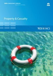 Property & Casualty - Tata Consultancy Services