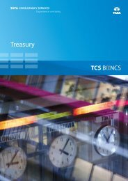 Treasury Solution - Tata Consultancy Services