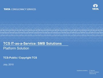 TCS SMB Solutions
