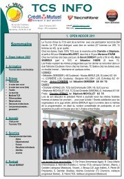Journal du TCS - Tennis Club du Salève