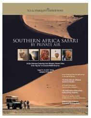 Brochure PDF - TCS & Starquest Expeditions