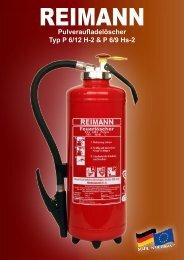 Pulveraufladelöscher Typ P 6/12 H-2 & P 6/9 Hs-2 - ABC ...